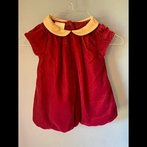 Baby Girl Holiday Bubble Dress size 6-9 months